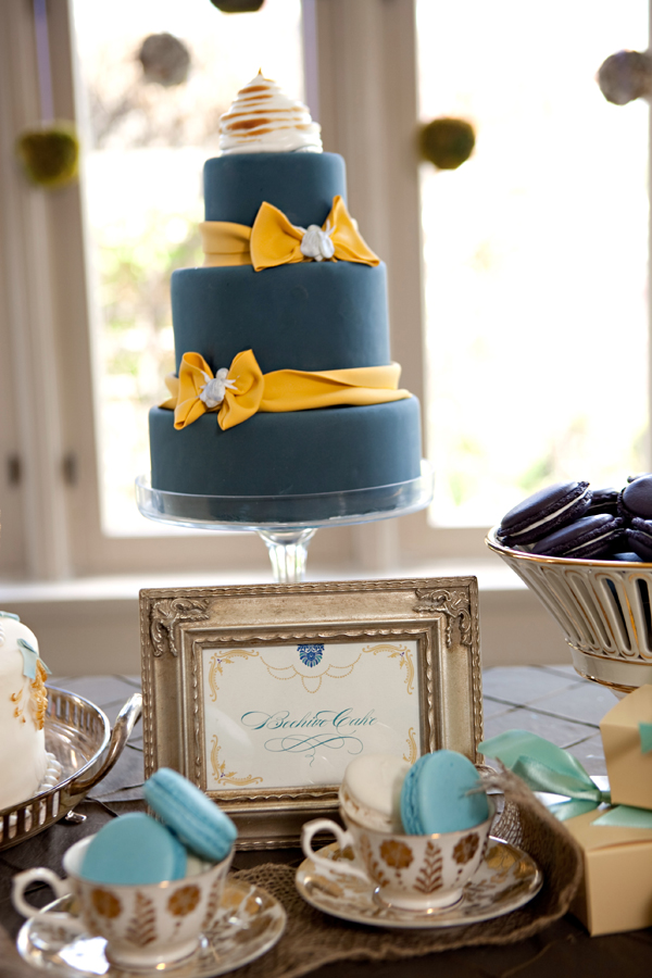 We love this one because of the blue and yellow combo