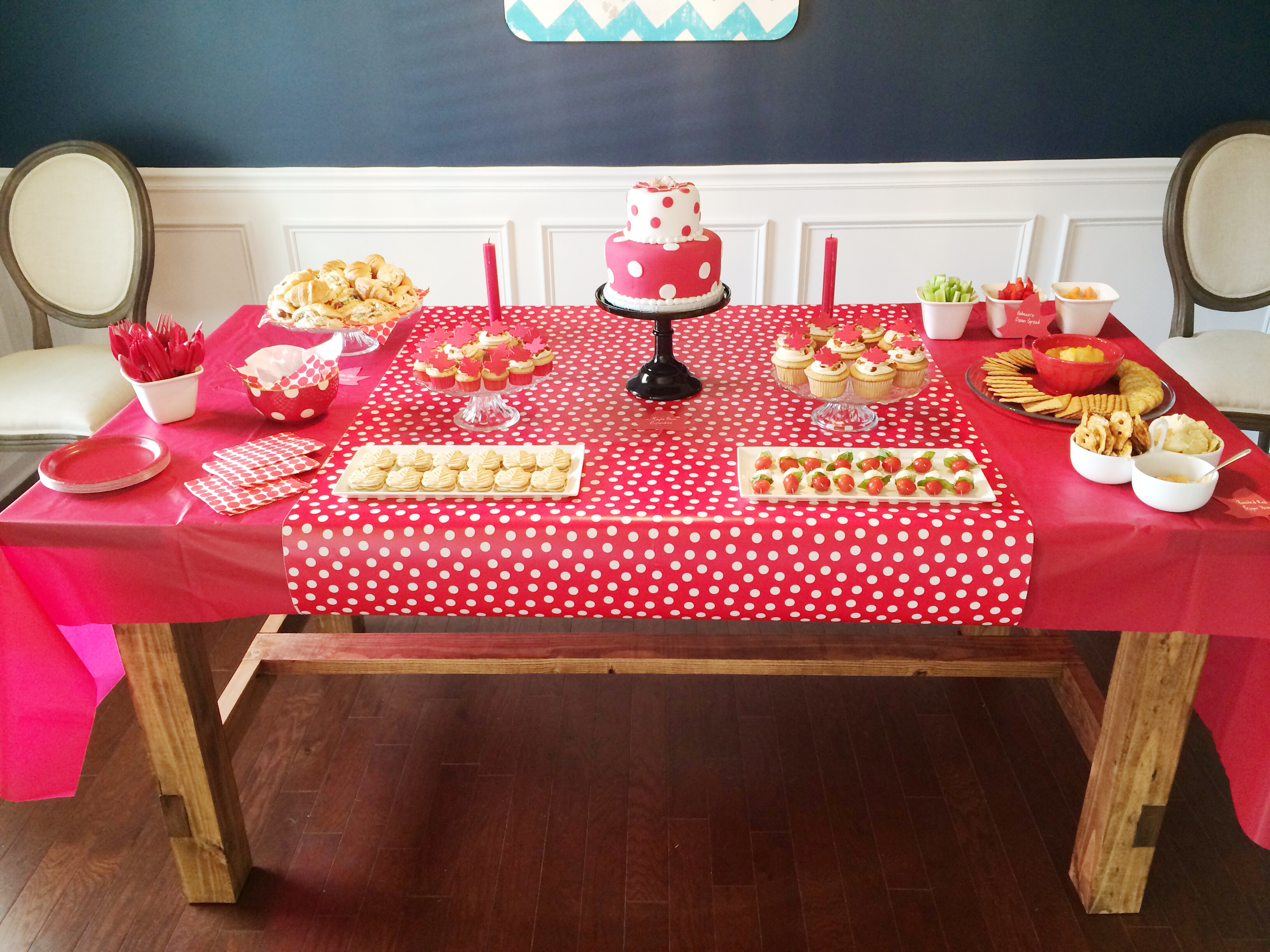 BabEH Shower: Canadian Themed Baby Shower | Mandy and Conner