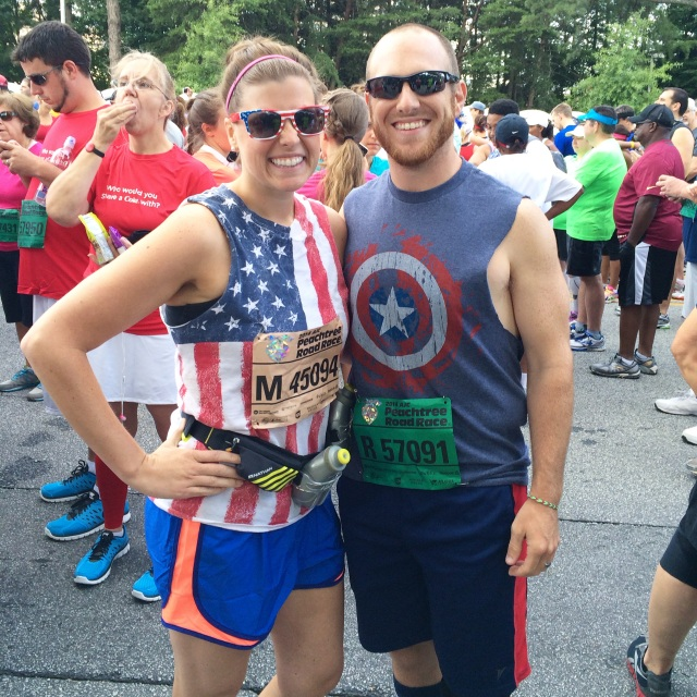 Peachtree Road Race 2014