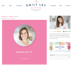 Emily Ley Blog Feature: Pinch me!