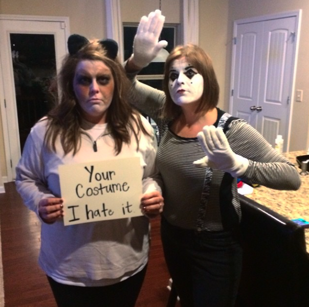 Grumpy Cat and Mime
