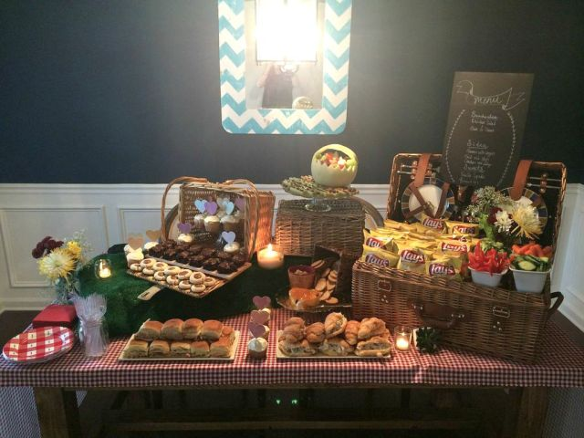 Picnic Basket Themed Party